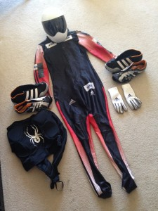 Hand-me-downs from 2010 Olympic Gold Medalist, Jon Montgomery