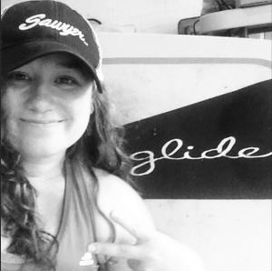 Sonya Baumstein. Ocean-rower, Paddler and Backcountry Lover.