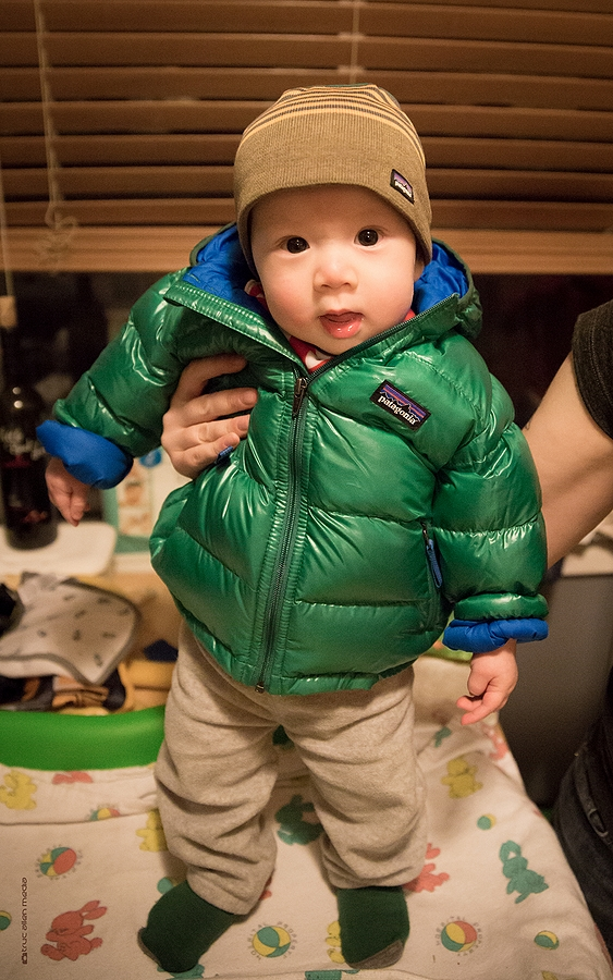 baby jacket for outside adventure