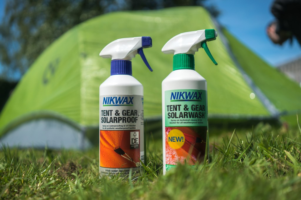 nikwax tent cleaning and waterproofing