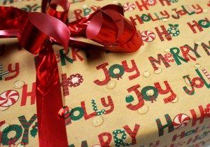 Waterproof Your Gift Wrap
