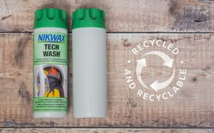 Nikwax – 100% Recycled Plastic in Product Bottles